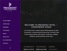 Tablet Preview of hotelpresident.co.za