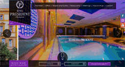 Preview of hotelpresident.hu